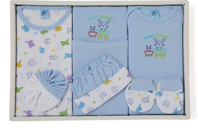 Stuff Jam 9 Piece Gift Set - Blue (0 - 1 Year)