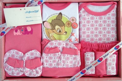 Infant Touch Baby Gift Set - 12 Pcs - Pi...