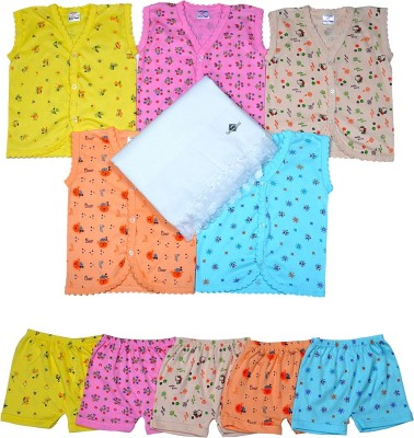 Sathiyas Baby top & bottom with baby towel