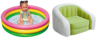 Intex Pool and Chair