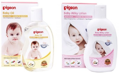 Pigeon Baby Milky Lotion and Oil