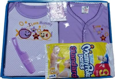 Jerry & Tom 6 Pcs Purple Baby Combo Gift Set