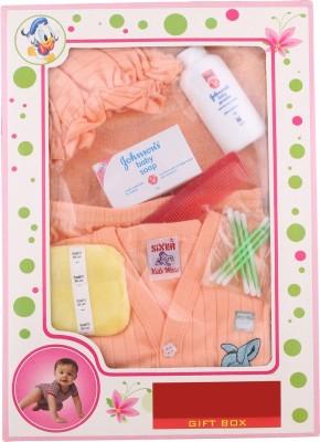Sixer Knitting Born Baby Gift Set_orange