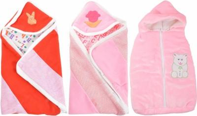 ROYAL SHRI OM REVERSABLE & NON REVERSABLE BABY WRAP (SET OF 3)