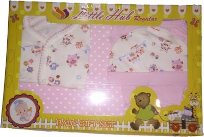 Little Hub New Born Baby Gift Set - Pink
