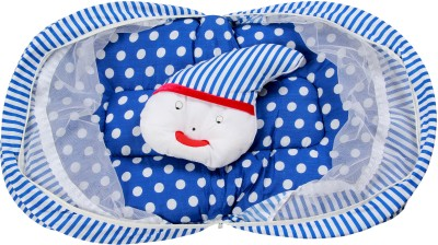 ROYAL SHRI OM BABY SLEEPING BED AND PILLOW WITH MOSQUITO NET Mosquito Net