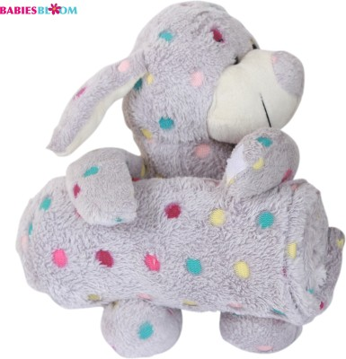Babies Bloom Toy Pillow/Blanket Combo(Multi-color)