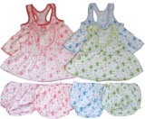 Sonpra Baby Girls Frocks with Bloomers-P...