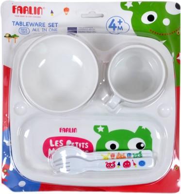 Farlin Tableware Set - Plastic(Multicolor)