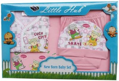 LITTLE HUB BABY SET - 4 PIECES