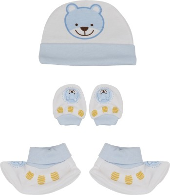 Buds N Blossoms Mittens Booties Cap Combo Set