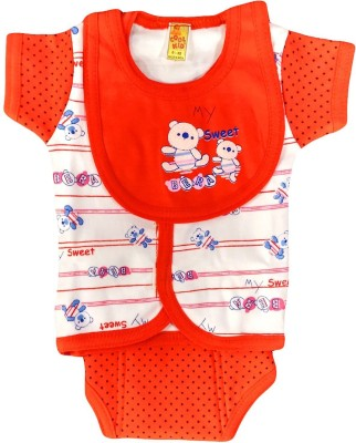 Amykids Vest Bib and Nappy Set for Babies