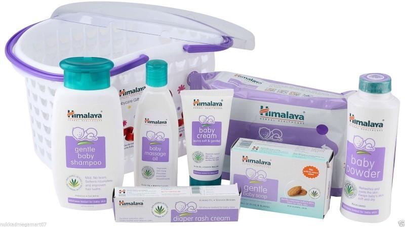 Himalaya Babycare Basket Gift(White)