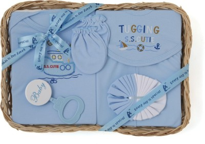 Stuff Jam 7 Piece Gift Set - Blue (0 - 1 Year)