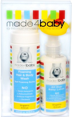 Made 4 Baby Its Bath Time - Organic Citrus Basic Pack