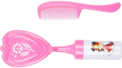 TINNY TOTS Musical Baby Comb & Brush(Pink)