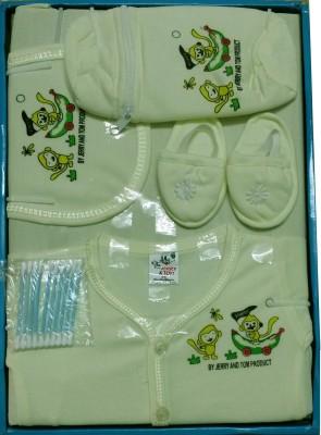 Jerry & Tom 7 Pcs Lemon Baby Combo Gift Set