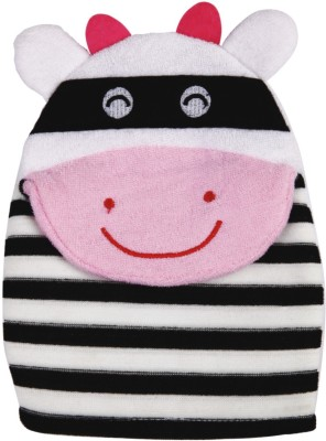 Panache Cartoon Bath Glove (Black & Whit...