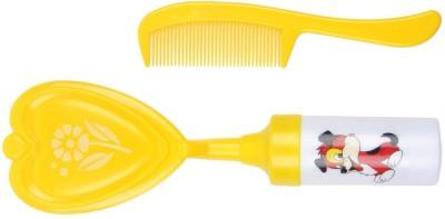 TINNY TOTS Musical Baby Comb & Brush (yellow)