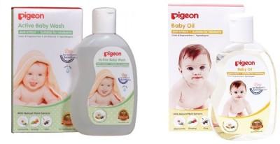 Pigeon Baby Wash_Oil
