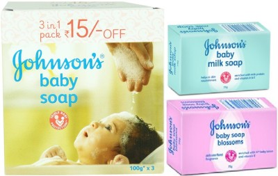 Johnson's Baby Soap Combo
