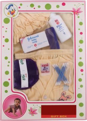Sixer Knitting Born Baby Gift Set_beige