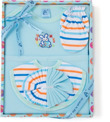 Stuff Jam 6 Piece Gift Set - Blue (0 - 1 Year)