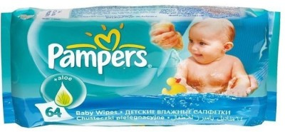 Pampers Aloe Baby Wipes