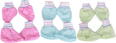 Jo Kidswear Baby Accessories(Pink,Light Blue,Green)