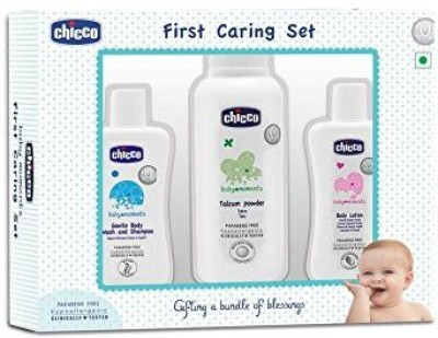 CHICCO FIRST CARING 3PCS GIFT SET