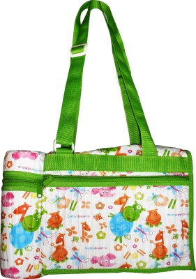 Baby Dreams Diaper Bag with Bottle Warmer Attached