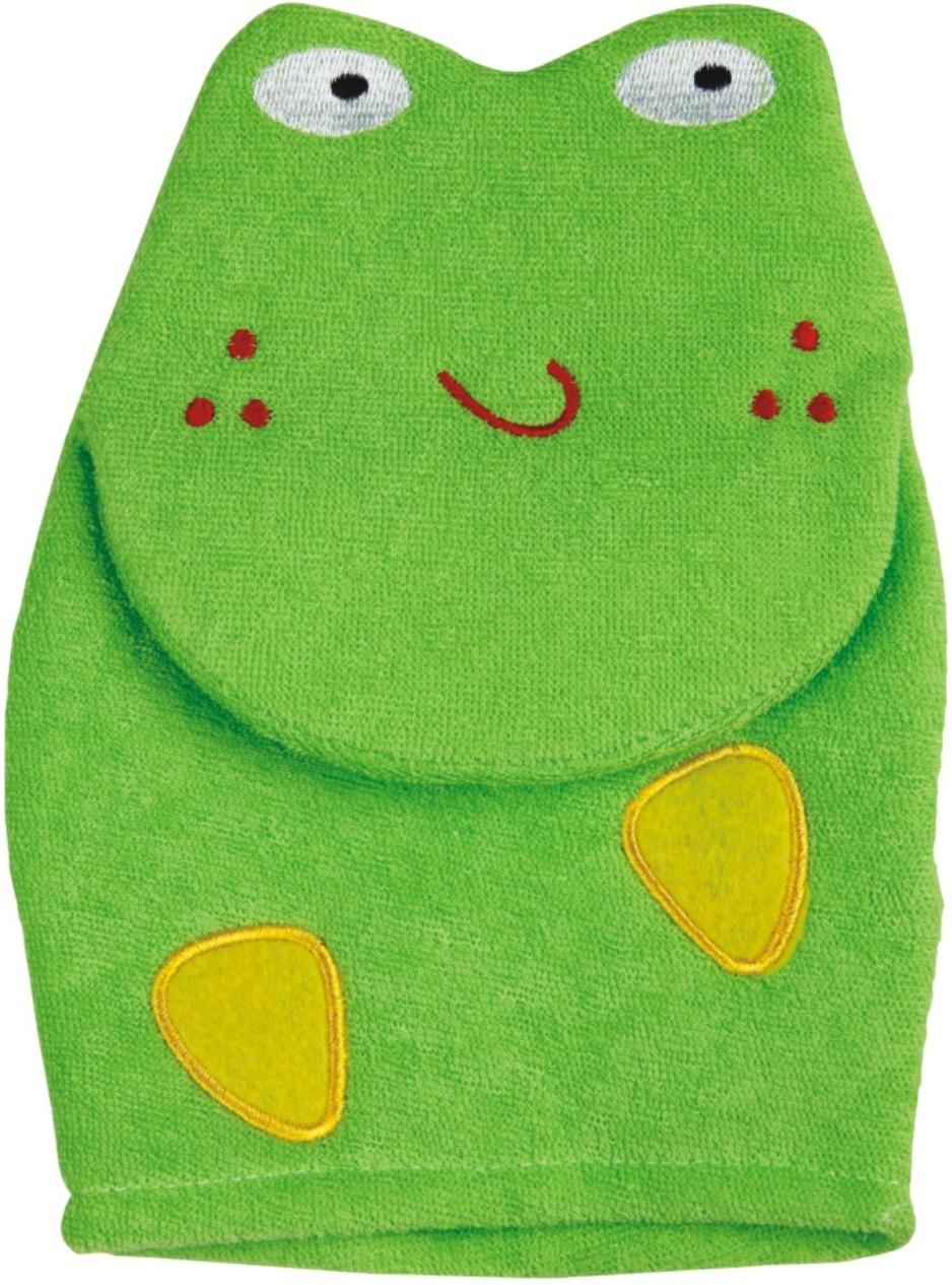 Panache Cartoon Bath Glove (Green)