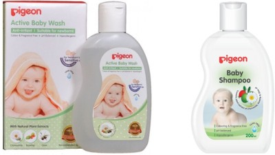 Pigeon Baby Wash And Shampoo