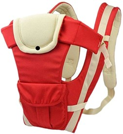 Maxed Adjustable Hands-Free 4-in-1 Baby Carrier with Comfortable Head Support & Buckle Straps BC-50 Baby Carrier(Multicolor Front Carry facing in)