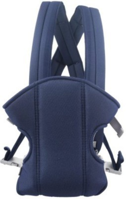 Venus New Blue Soft Cotton Adjustable With Multi Positions Front & Back Baby Carrier