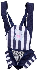 Shrih Padded Shoulder Strap Two Way Baby Carrier(Blue Front Carry facing in)