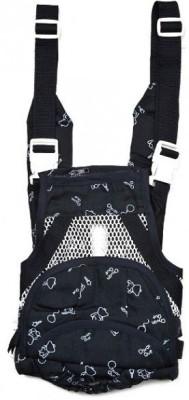 Chuan Que Teddy Print Baby Carrier