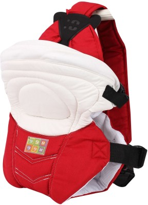 Mee Mee Safe & Stylish 6 in 1 Baby Carrier(Red)
