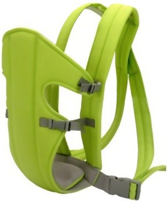 Venus New Green Soft Cotton Adjustable With Multi Positions Front & Back Baby Carrier