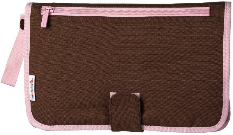 Munchkin 735282115080 Changing Station(Brown, Pink)