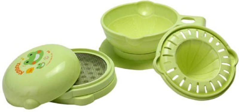 Kaeru Baby Food Processor Set~7 Pack(Green)