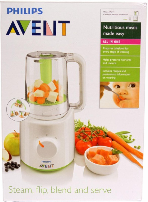Philips Avent Steamer And Blender(White)
