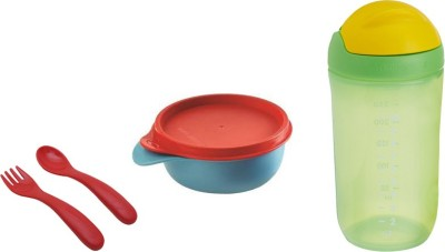Tupperware Baby Fedding set(Green, Blue, Red)
