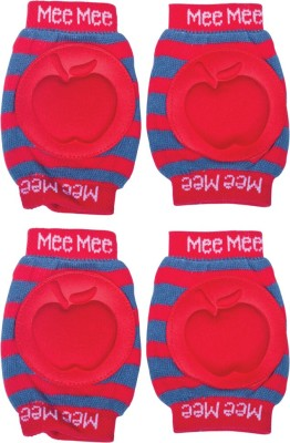 Mee Mee Protective Red Baby Knee Pads(Apple)
