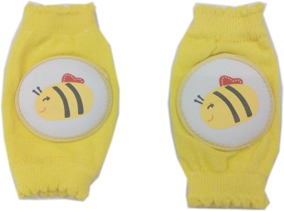 Baby's Clubb Protective Pad Yellow Baby Knee Pads