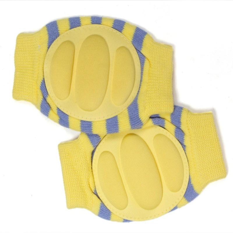 Baby Bucket B01C771JS0 Yellow Baby Knee Pads