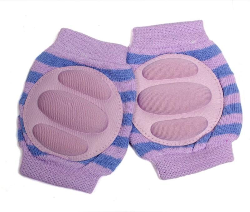 Baby Bucket B01C771JS0 Purple Baby Knee Pads(Self Design)