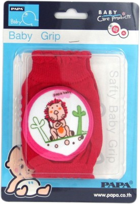 Baby Bucket Baby (Lion) Red Baby Knee Pads