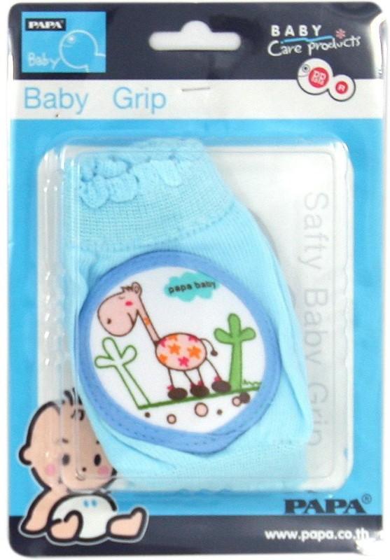 Baby Bucket Baby (giraffe) Blue Baby Knee Pads(Giraffe)