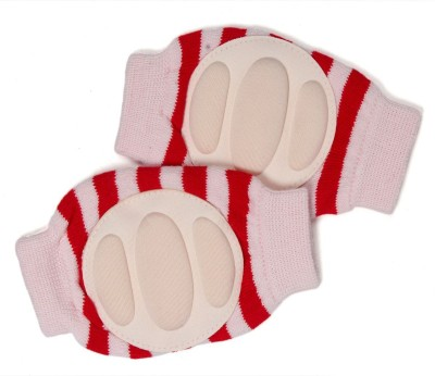 Baby Bucket Baby Bucket Soft Cotton Baby Knee Pad Red Baby Knee Pads(Self Design)